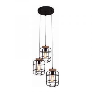 Brilliant Hanglamp Gwen Zwart 99255/66