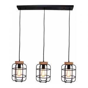 Brilliant Hanglamp Gwen Zwart 99256/66