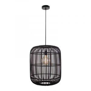 Brilliant Hanglamp Woodrow Zwart 99404/76