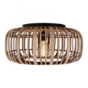 Brilliant Plafondlamp Woodrow Bruin 99405/20