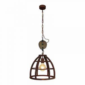 Brilliant Hanglamp Matrix Roest HK17186S55