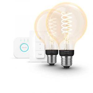 Philips Hue Filament Warm White E27 Globelamp G95