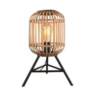 Block Tafellamp Ibiza Hout 3P 785813