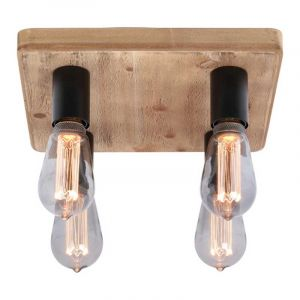 Freelight Plafondlamp Lenero Hout PL2740Z