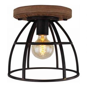 Freelight Plafondlamp Birdie Zwart PL5925Z