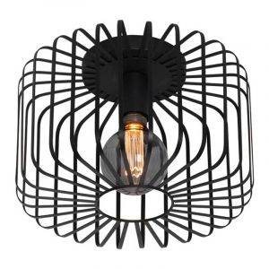 Freelight Plafondlamp Stecca Zwart PL7033Z