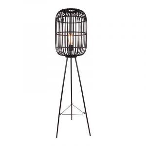 Freelight Vloerlamp Treccia Zwart S5401Z