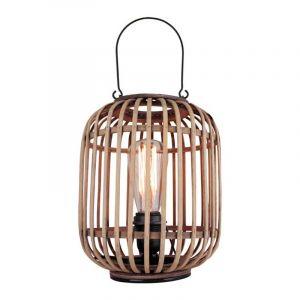 Freelight Tafellamp Treccia Hout T5401H