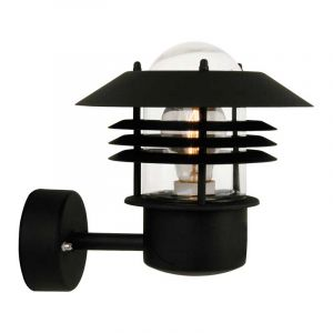 Zwarte Vejers wandlamp van Nordlux