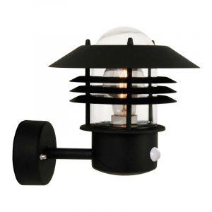 Nordlux Wandlamp met sensor Vejers Zwart 25101003
