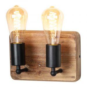 Freelight Wandlamp Lenero Hout W2702Z