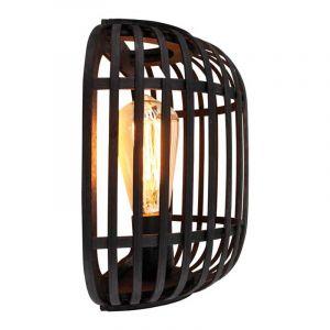 Freelight Wandlamp Treccia Zwart W5401Z