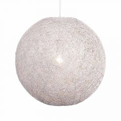 Hanglamp Abaca 45cm Wit 31545001