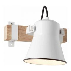 Brilliant Wandlamp Plow Wit 82110/05