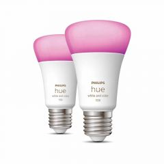 Philips Hue White and Color Ambiance E27 Duopack 1100lm